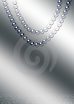 Beautiful Pearl Necklace Stock Photo - Image: 17865010
