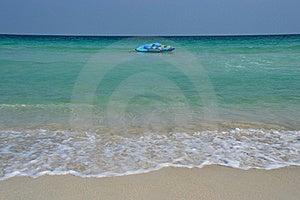 Samui Beach Banana Boat Royalty Free Stock Image - Image: 17865896