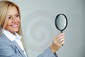 Business Woman Looking Royalty Free Stock Images - Image: 17869809