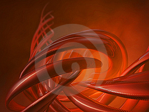 Red Horns Royalty Free Stock Images - Image: 17871289