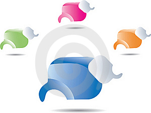 Colorful Speech Bubbles Royalty Free Stock Images - Image: 17874809