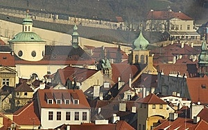 Prague Roofs And Towers Royalty Free Stock Images - Image: 17877499