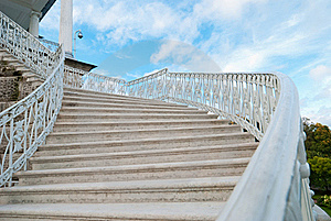 Old-fashioned Stairway Royalty Free Stock Image - Image: 17878046