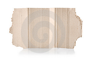 Torn Cardboard Stock Photography - Image: 17879392