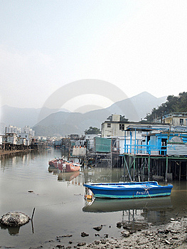Asia Water Village Royalty Free Stock Photography - Image: 17882377