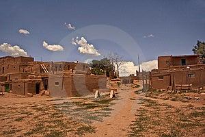 Taos Pueblo Royalty Free Stock Image - Image: 17892356