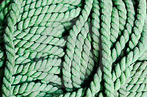 Green Rope Stock Images - Image: 17893004