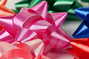 Color Of Gift Ribbons Stock Photography - Image: 17893542
