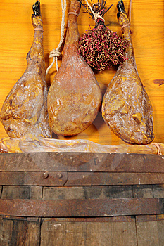 Cured Ham. Stock Photography - Image: 17894742
