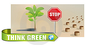Green Earth Concept Stock Photo - Image: 17895820