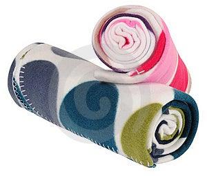 Blanket. Isolated Stock Photography - Image: 17896472