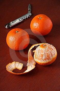 Three Mandarin Oranges Stock Photography - Image: 17898272