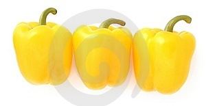 Yellow Peppers Stock Photography - Image: 17899422