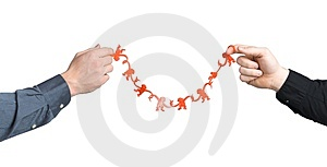 Two Hands Holding Monkey String Stock Images - Image: 1790744