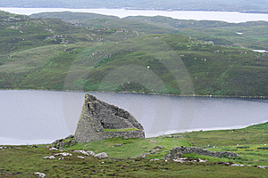 Carloway Broch Royalty Free Stock Images - Image: 1790999