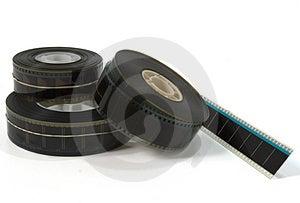 Three Movie Film Trailers 2 Stock Photo