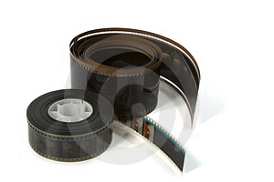 70mm and 35mm Movie Film Royalty Free Stock Image