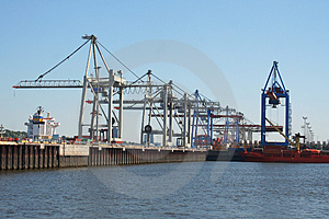 Container Shipping Industry VI Stock Photo - Image: 1794700