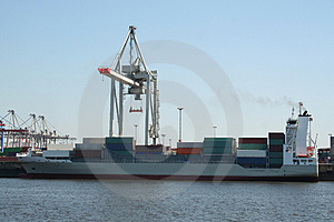 Container Shipping Industry VIII Royalty Free Stock Photos - Image: 1794708