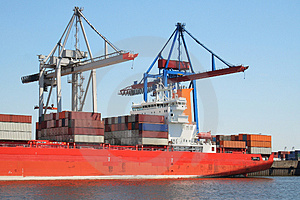 Container Shipping Industry XIV Royalty Free Stock Photo - Image: 1794725