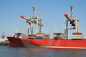Container Shipping Industry XVI Stock Photo - Image: 1794730