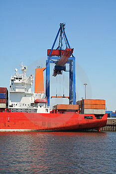 Container Shipping Industry XVII Royalty Free Stock Photo - Image: 1794735