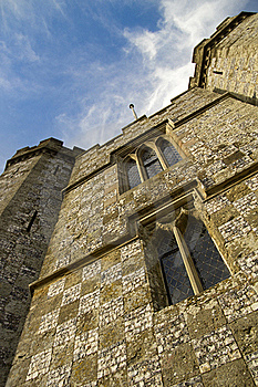 Castle And Sky Royalty Free Stock Photography - Image: 17904687