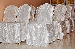 Wedding Decorated Chairs Royalty Free Stock Photography - Image: 17909167