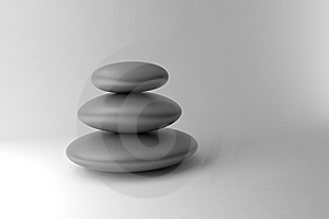 Black And White Stones Stock Image - Image: 17909261