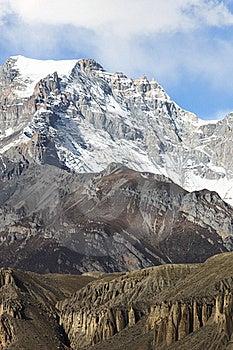 Annapurna Range Royalty Free Stock Image - Image: 17910896
