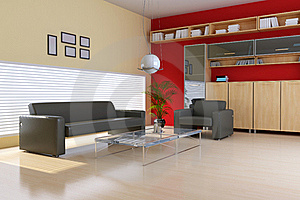 Living Room Royalty Free Stock Photos - Image: 17911388