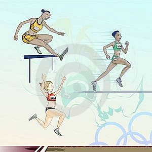 Olympic  Toons -  Pack 3 Royalty Free Stock Photo - Image: 17912385