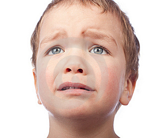 Portrait Of Small Sad Boy Royalty Free Stock Images - Image: 17912829