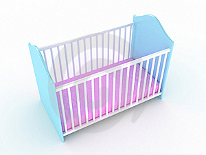 Children's Bed Royalty Free Stock Photo - Image: 17912935