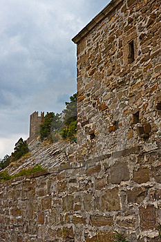 Genoese Medieval Fortress Stock Images - Image: 17914604