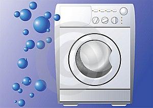 Washing Machine. Stock Photography - Image: 17915142