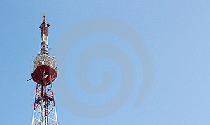 Tele Communication Tower Stock Photography - Image: 17916042