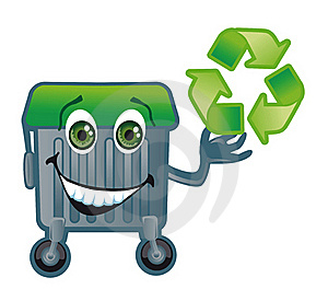 A Merry Trash Tank Royalty Free Stock Photos - Image: 17916808