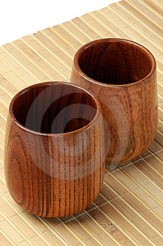 Wood Cup Stock Photo - Image: 17920300