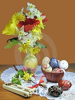 Easter Still Life Royalty Free Stock Photography - Image: 17923847