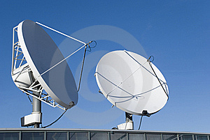 Communication Satellites Stock Images - Image: 17924784