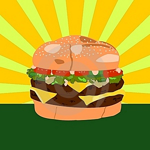 Cheeseburger Stock Photography - Image: 17927432