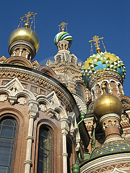 Church On Spilled Blood, St. Petersburg Stock Photo - Image: 17930300