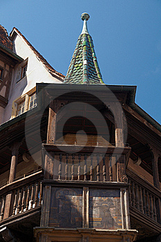 Pfister House, Alsace Royalty Free Stock Image - Image: 17931486