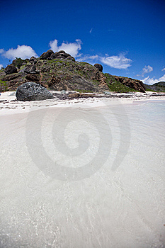 Orient Bay St. Martin Stock Photography - Image: 17931572