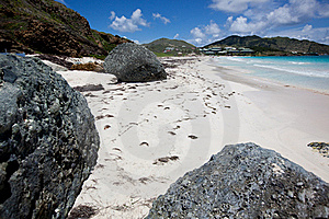 Orient Bay St. Martin Stock Images - Image: 17931694