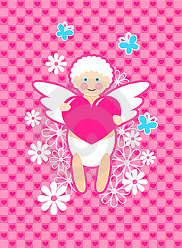 Cute Cupid Stock Image - Image: 17932301