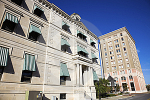 Historic Buildings In Downtown Pensacola Royalty Free Stock Images - Image: 17932509
