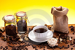 Aroma Coffee Royalty Free Stock Image - Image: 17932646