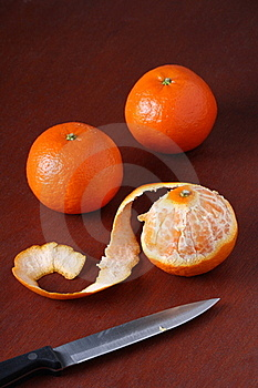 Three Mandarin Oranges Royalty Free Stock Photos - Image: 17932888